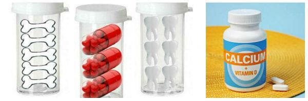 Приложение на калциеви добавки - прием на комбинирани препарати, съдържащи витамин D, магнезий и други