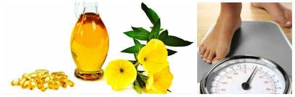 Приложение на масло от вечерна иглика при затлъстяване