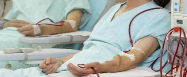 Приложение при хемодиализа