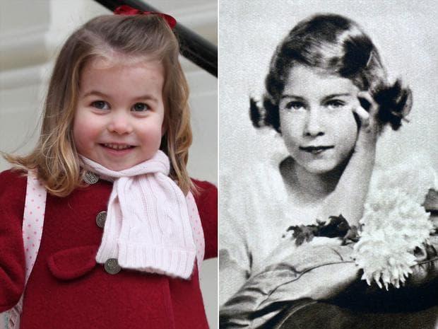 Уверена и усмихната: Принцеса Шарлот тръгна на детска градина