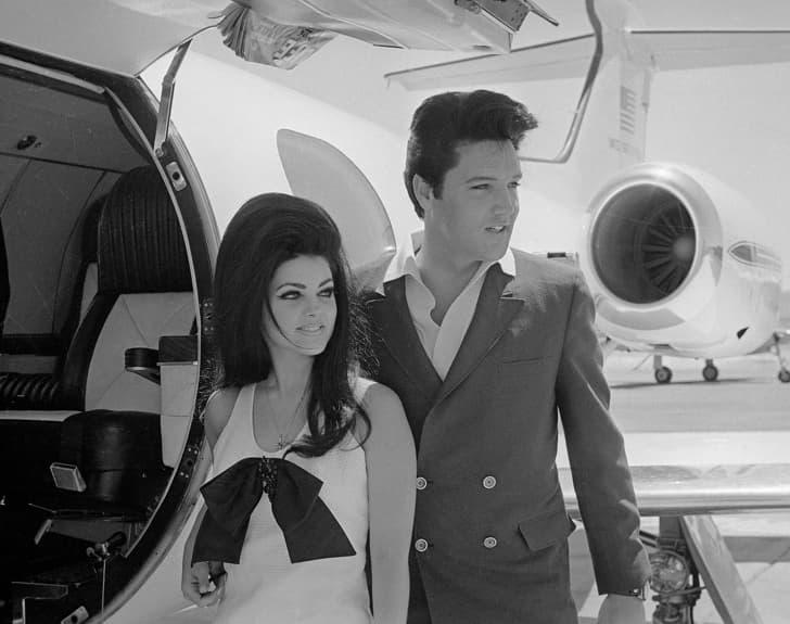 Елвис и Присила Пресли