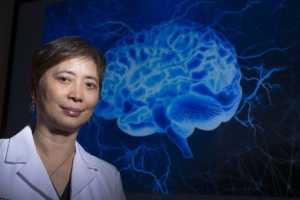Професор Ксу Минг, невролог от университета Рутгерс, Ню Джърси