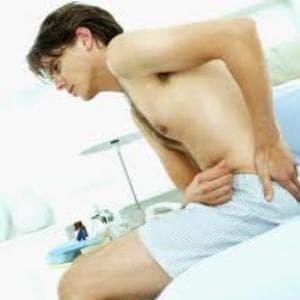 Болка в кръста при простатит