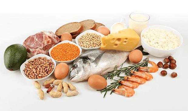 Повишен прием на протеини