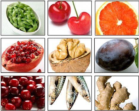 Противовъзпалителни храни
