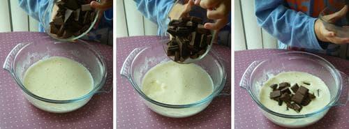 пудинг с бонбони маршмелоу и шоколад