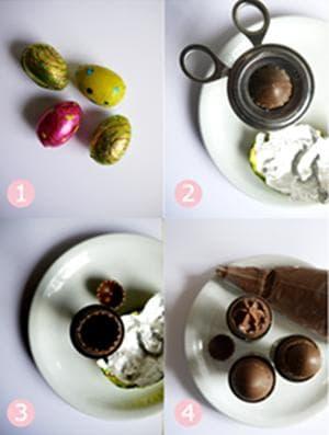 пълнени шоколадови яйца
