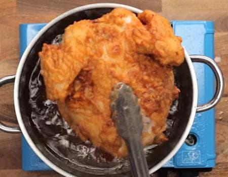 мариновано пържено пиле