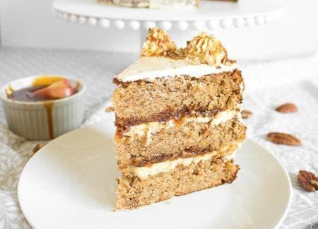 торта с карамел и масло