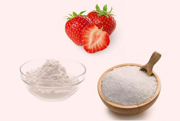 Ягоди, сол и сода