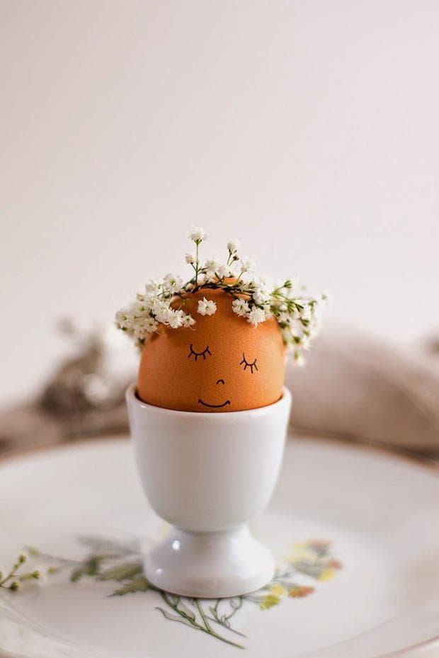 Яйца с корони