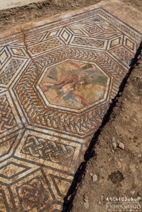 Римска мозайка от Виен, Франция