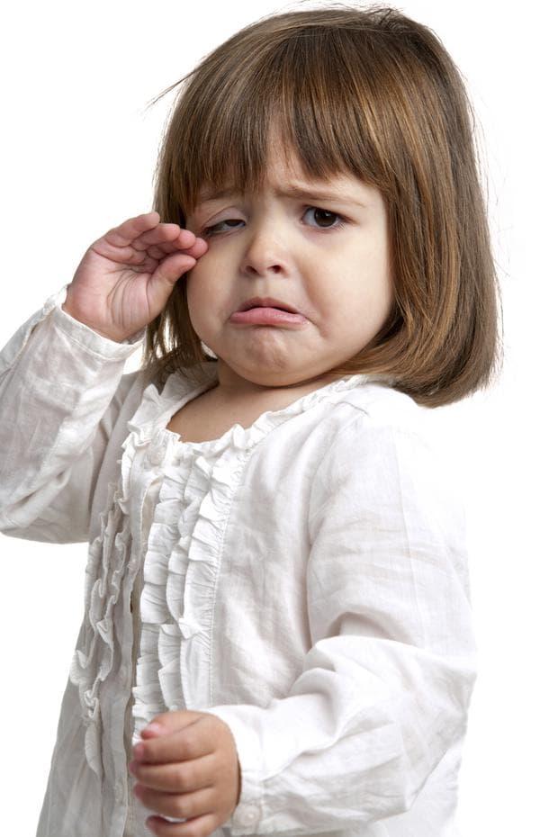 Разочарование у детето