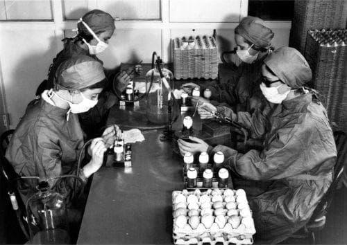 Разработка на противогрипна ваксина
