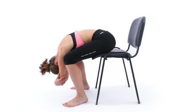 Стречинг за гърба