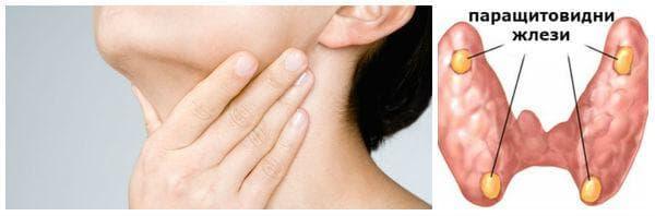 Развитие на хипопаратиреоидизъм вследствие хипофункция на паращитовидните жлези