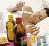 Развитие на усложнения при грип