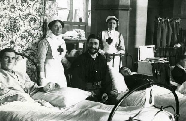 Медицински сестри от Червения кръст