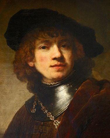 Рембранд, автопортрет Рембранд