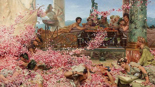 римски легенди за розата