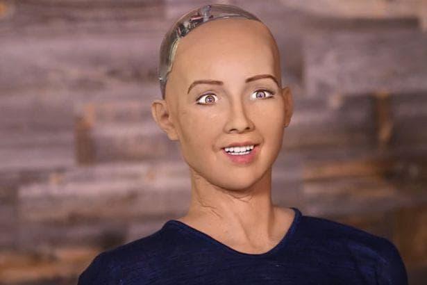 роботът София