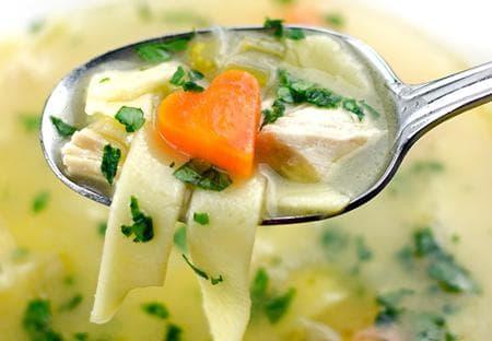 лимонова супа с пилешко месо