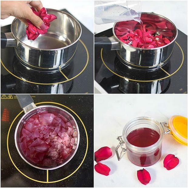 Приготвяне на розова вода у дома