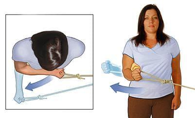 Упражнение за външните ротатори