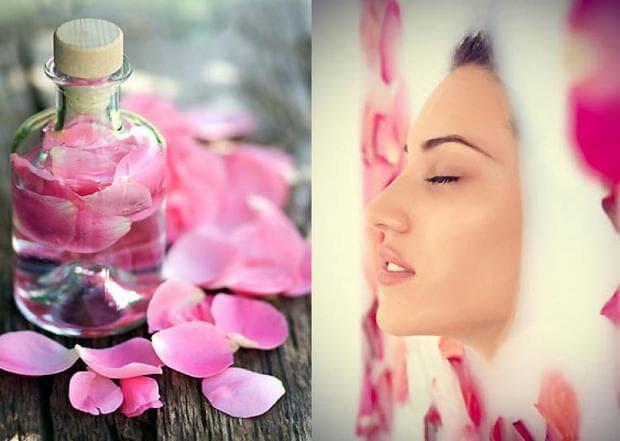 Приложение на роза в козметиката