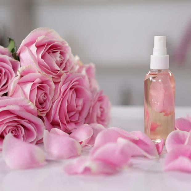 розова вода и глицерин