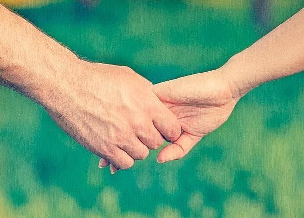 задържане на пръстите
