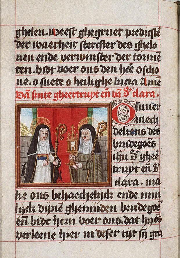 Свети Гертруда от Нивел
