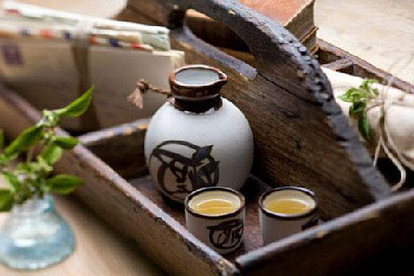 оризово вино - саке