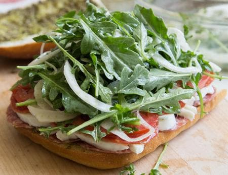 чабата сандвич