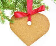 бисквита сърце