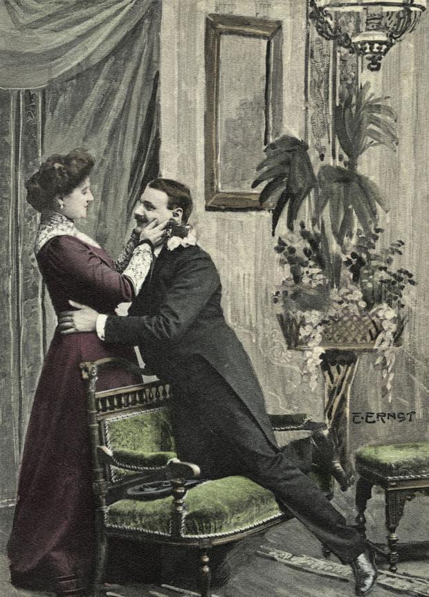 викторианска двойка