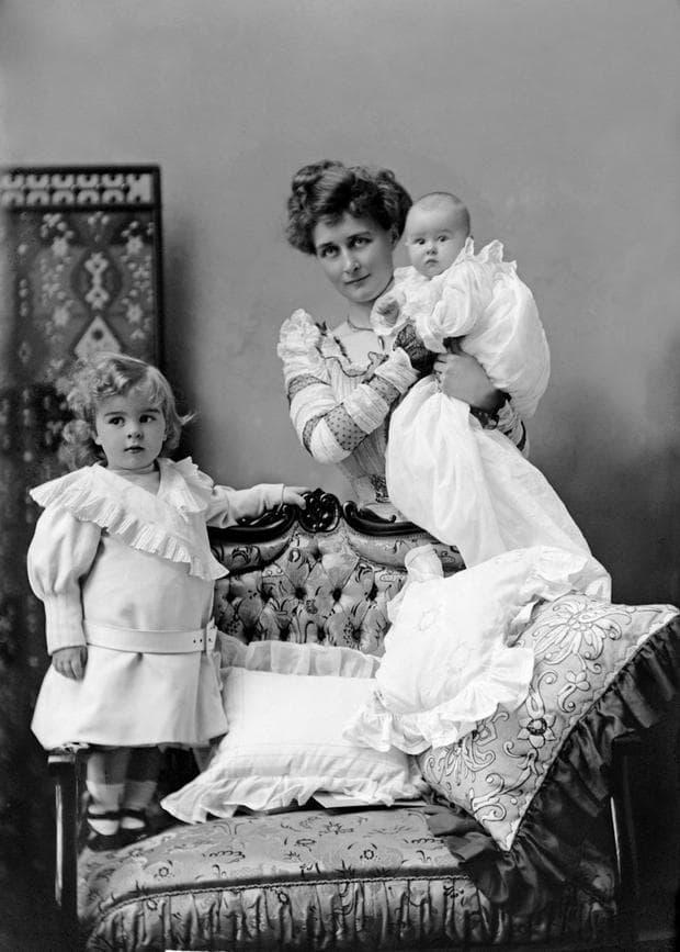 жена с деца