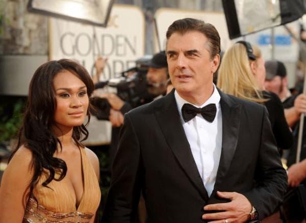Крис Нот и съпругата му