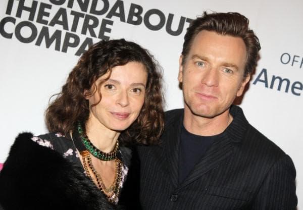 Юън Макгрегър и съпругата му