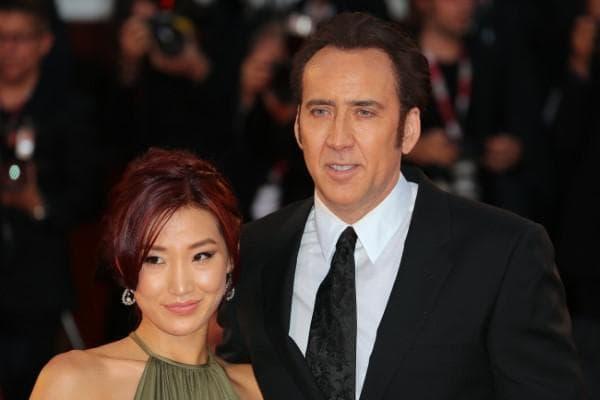 Никълъс Кейдж и съпругата му