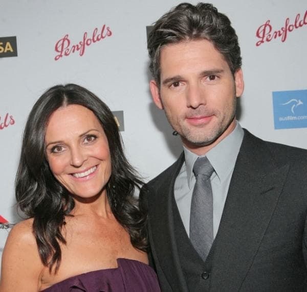 Ерик Бана и съпругата му