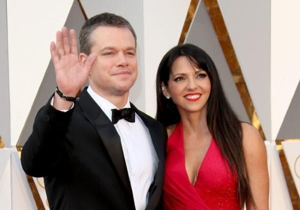 Мат Деймън и съпругата му