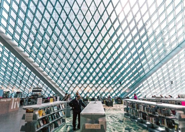 Библиотека в Сиатъл