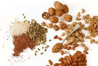 семена и ядки