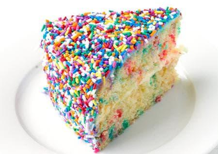 шарена торта