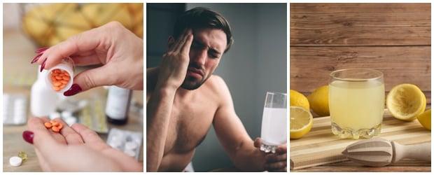 Лечение при махмурлук: какво да правим на сутринта (симптоматично лечение)