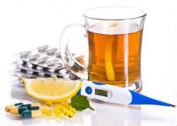 Симптоматично лечение на грип