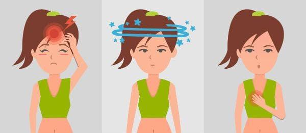 Симптоми при дехидратация (обезводняване)