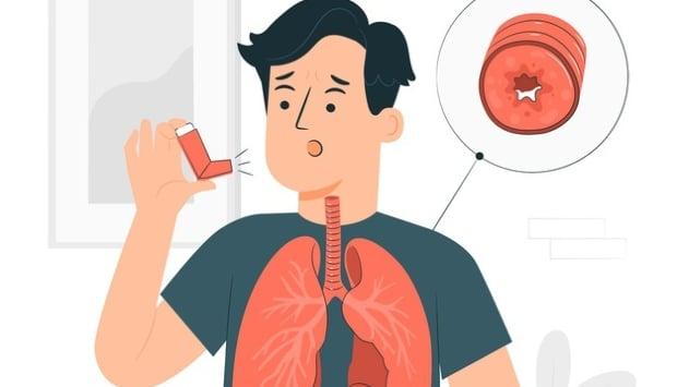 Стеснение на дихателните пътища