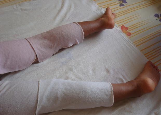 Синапени лапи при болка в коленете